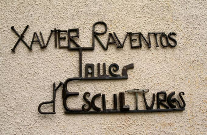 An Exhibition Of Xavier Raventós In Céret